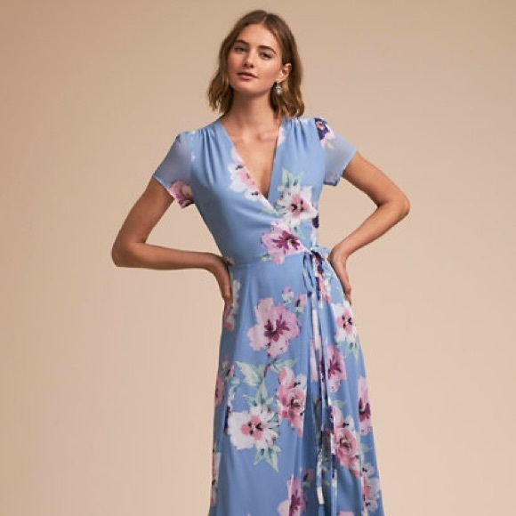 Yumi Kim Dresses & Skirts - Blue floral dress